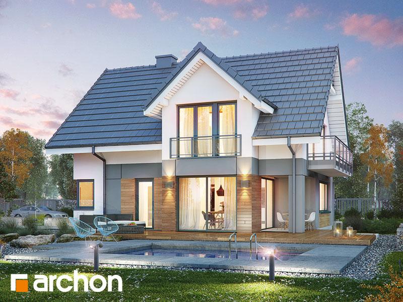 Dom w orliczkach (G2A) - wizualizacja 1