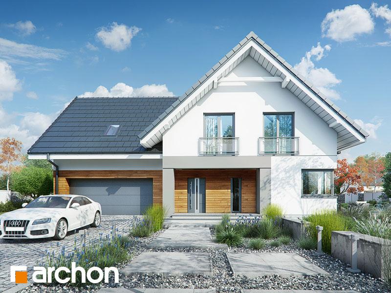 Dom w orliczkach (G2A) - wizualizacja 2
