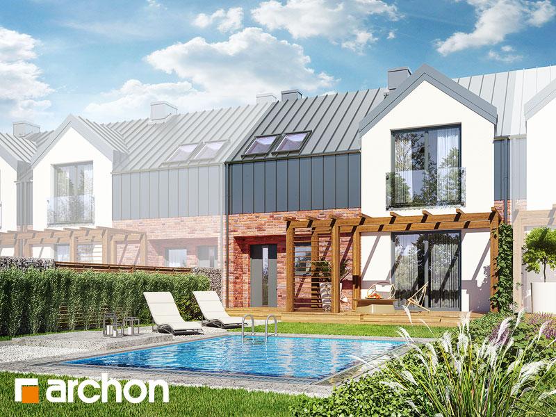 Dom w gunnerach (SA) - wizualizacja 1