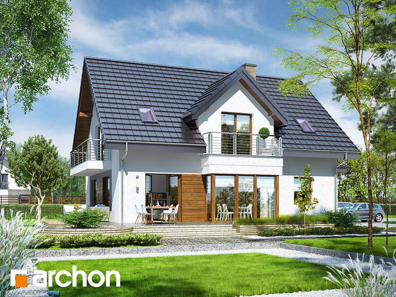 Dom w świetliku (G2N) - wizualizacja 2