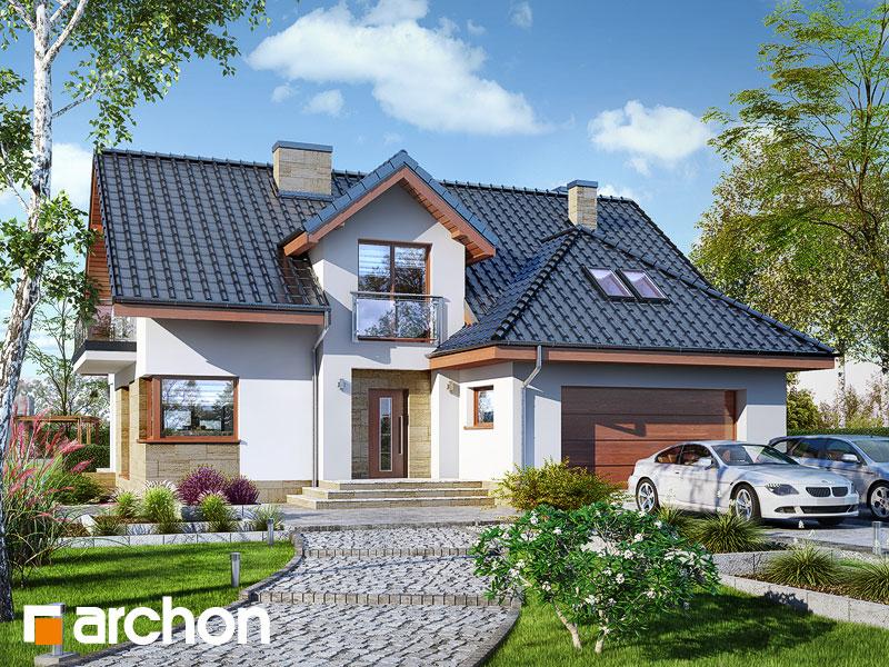 Dom w kortlandach (G2P) - wizualizacja 1