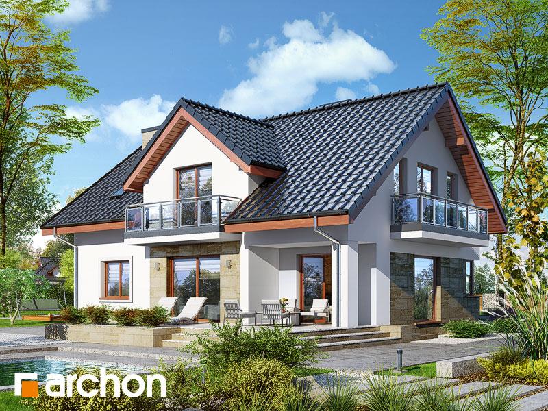 Dom w kortlandach (G2P) - wizualizacja 2