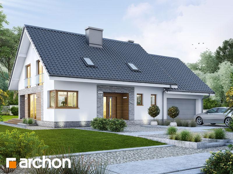 Nowoczesny Projekt Dom W Srebrzykach G2