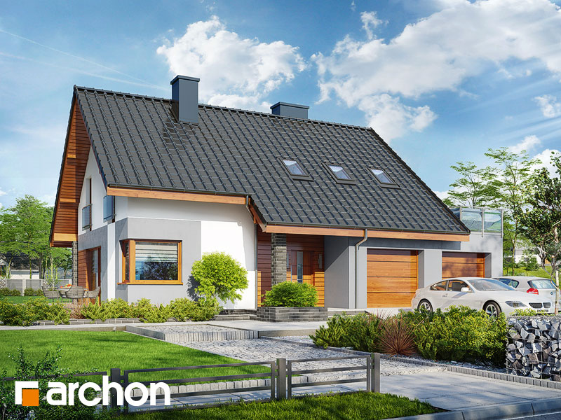 Dom w żurawkach 7 (G2) - wizualizacja 1