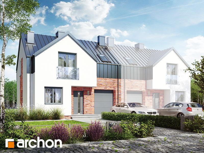 Dom w gunnerach (B) - wizualizacja 1