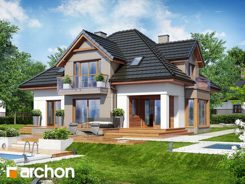 Dom w nagietkach 2 (N) - wizualizacja 2