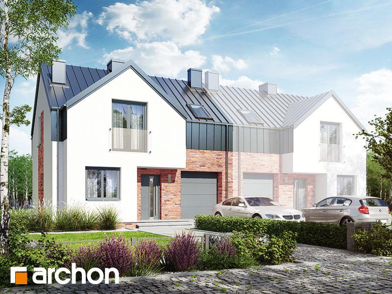 Dom w gunnerach (BA) ver.2 - wizualizacja 2