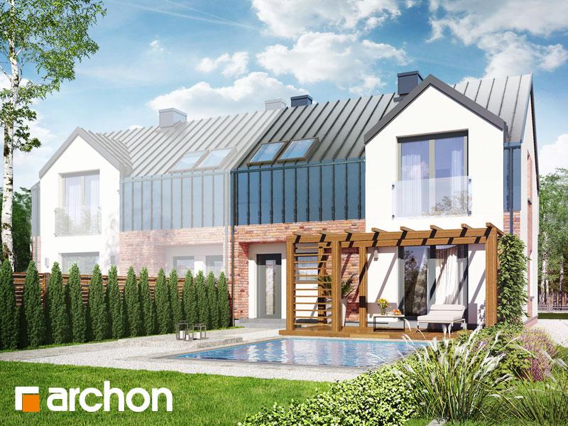 Dom w gunnerach (BA) ver.2 - wizualizacja 1