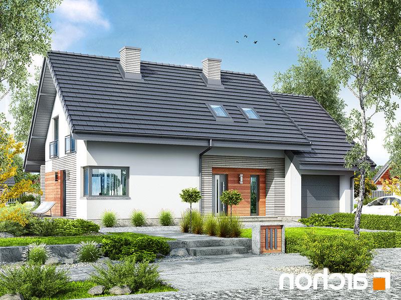 nowoczesny projekt dom w malin wkach 3. Black Bedroom Furniture Sets. Home Design Ideas