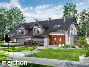 Dom w klematisach (G2R2)