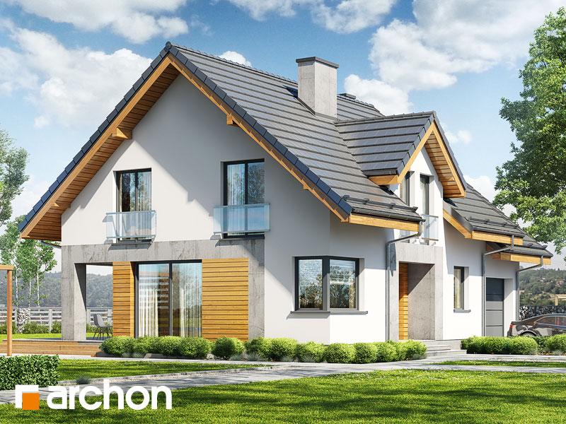 Dom w srebrzykach 4 - wizualizacja 1