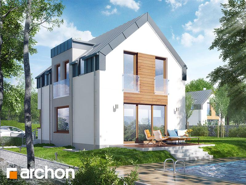 Dom w andromedach (P) ver.2 - wizualizacja 2