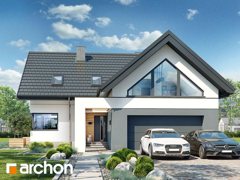 Dom w jaskierkach (G2) - wizualizacja 1