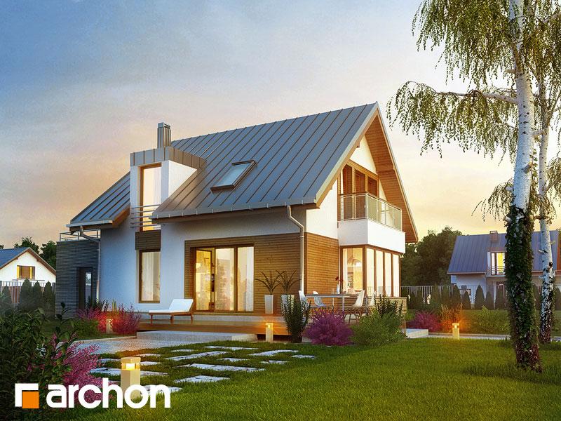 Dom w kardamonie - wizualizacja 2