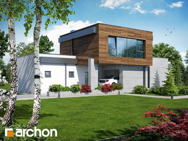 Dom w borrago (G) - wizualizacja 2