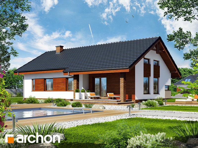 Nowoczesny projekt dom w palisandrach for Modelli e piani di case