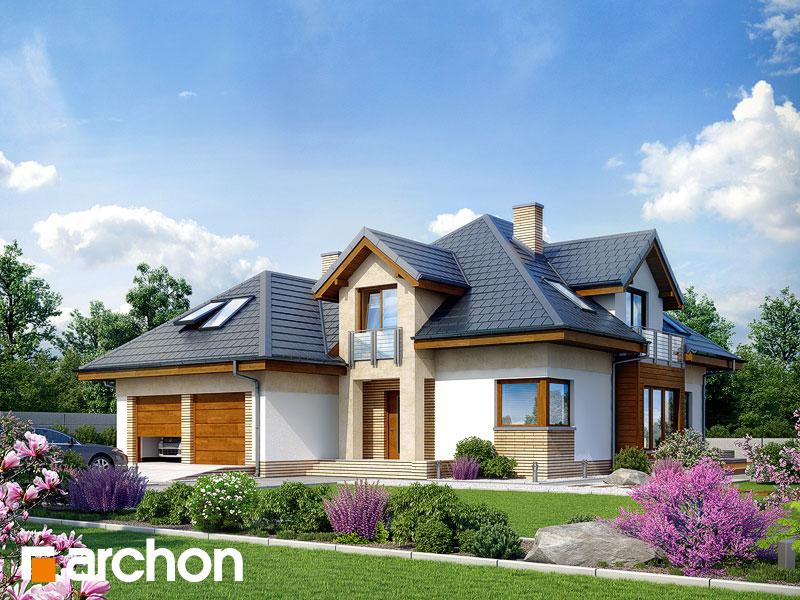 Dom w bergamotkach (G2N) - wizualizacja 1