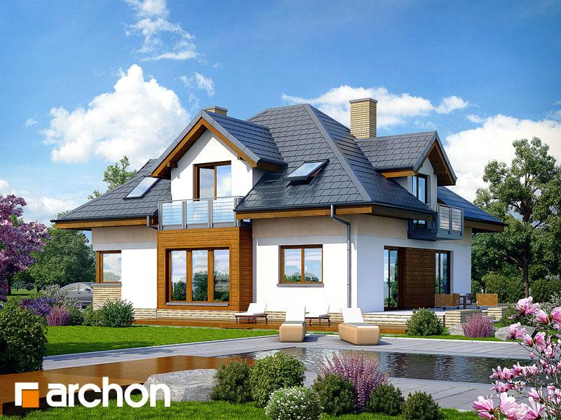 Dom w bergamotkach (G2N) - wizualizacja 2
