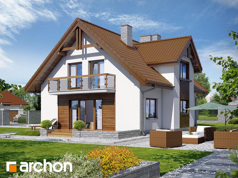 Dom w asparagusach (PN) - wizualizacja 2