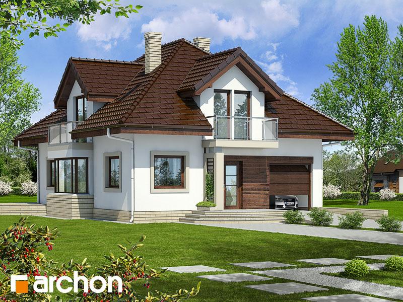 Dom w abeliach - wizualizacja 1