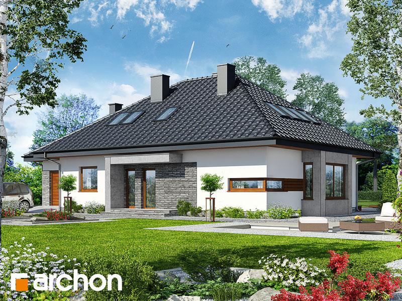 Dom pod jarząbem (GPDN) - wizualizacja 1