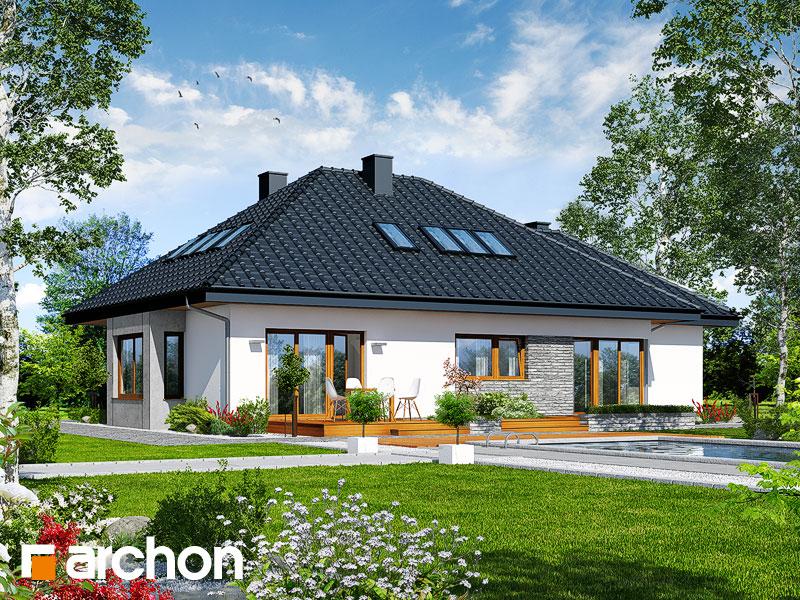 Dom pod jarząbem (GPDN) - wizualizacja 2