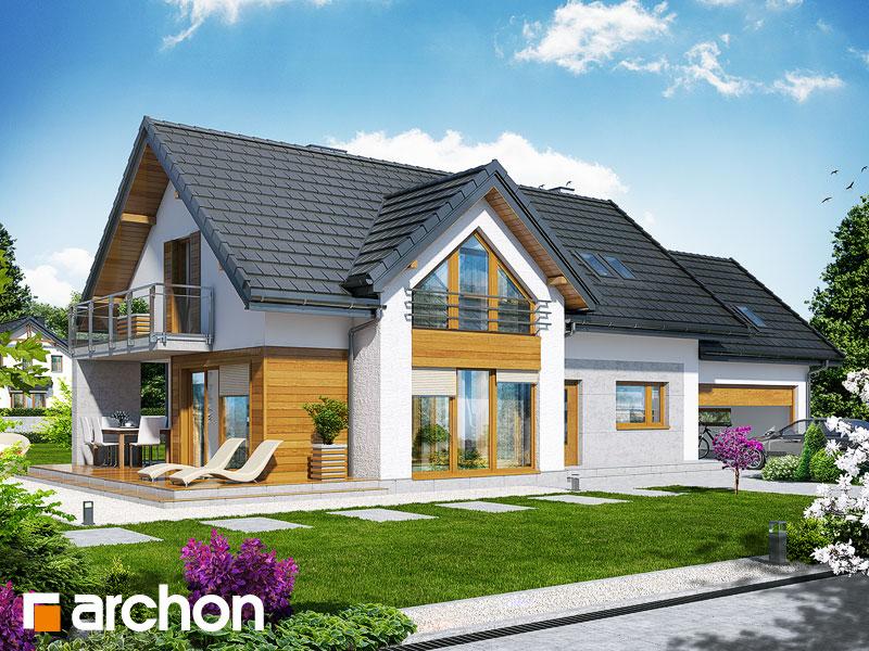 Dom w daktylowcach (G2) - wizualizacja 1