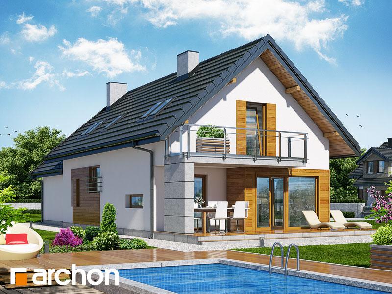 Dom w daktylowcach (G2) - wizualizacja 2