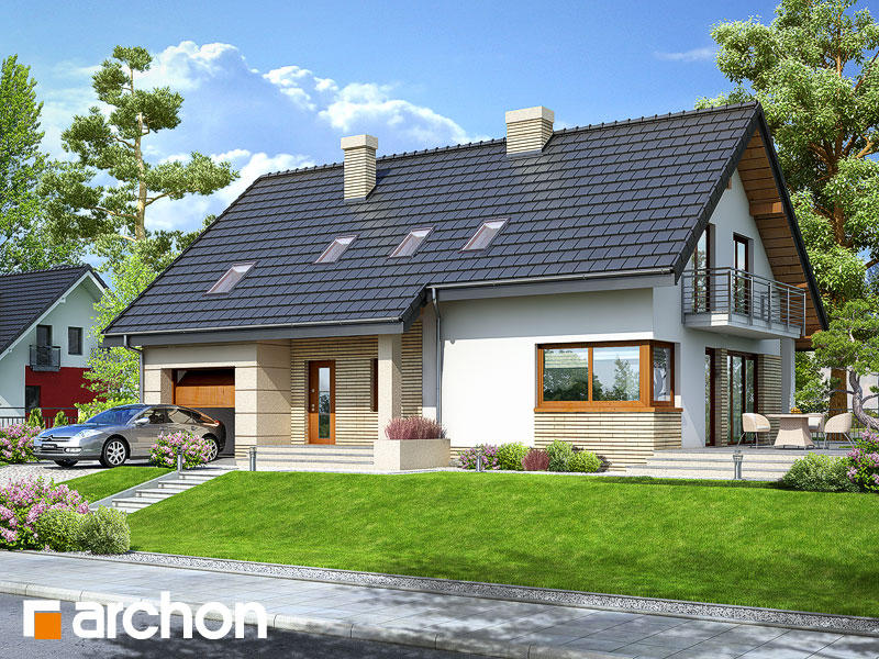 Dom w idaredach 2 - wizualizacja 1