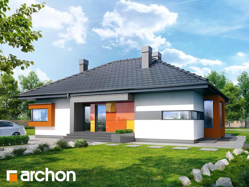 Dom pod jarząbem (PN) - wizualizacja 1