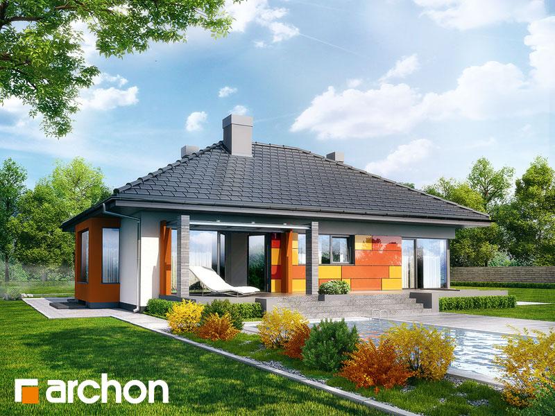 Dom pod jarząbem (PN) - wizualizacja 2