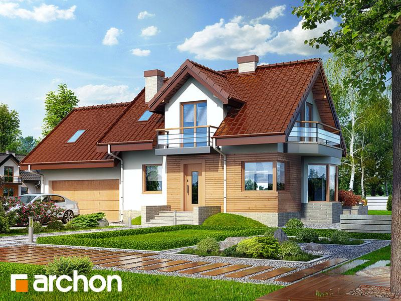 Dom w perłówce (G2N) - wizualizacja 1