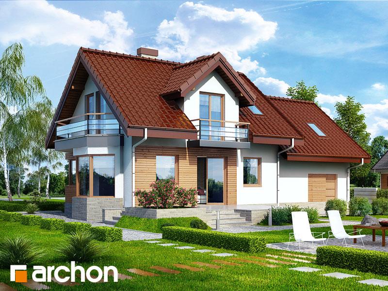 Dom w perłówce (G2N) - wizualizacja 2