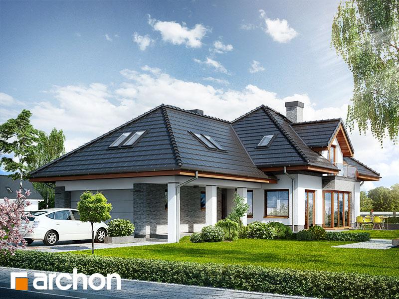 Dom w sanwitaliach - wizualizacja 1