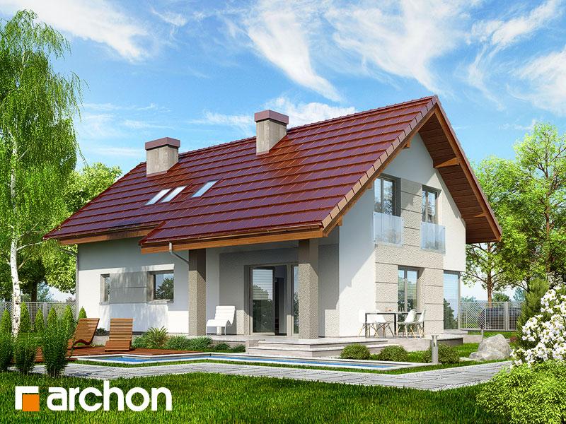 Dom w wisteriach 2 - wizualizacja 2