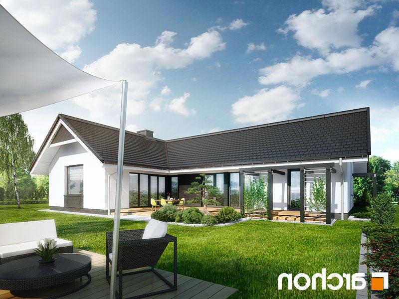 Nowoczesny Projekt Dom W Bonsai