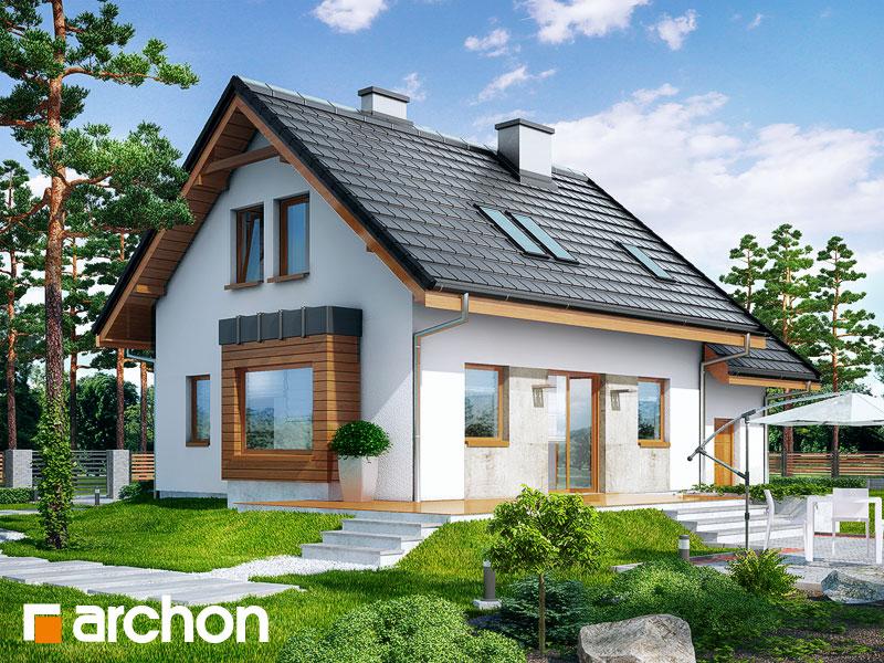 Dom w perłówce 3 - wizualizacja 2