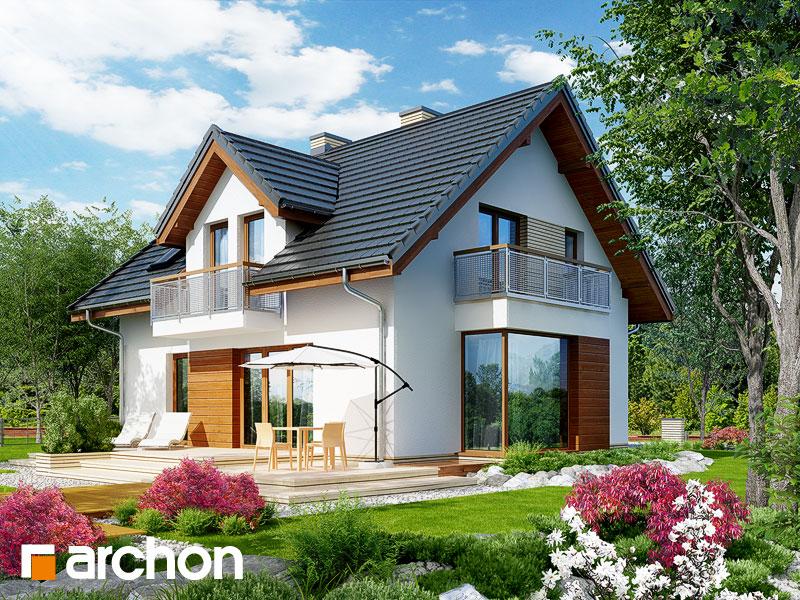 Dom w rododendronach 6 (WN) - wizualizacja 2