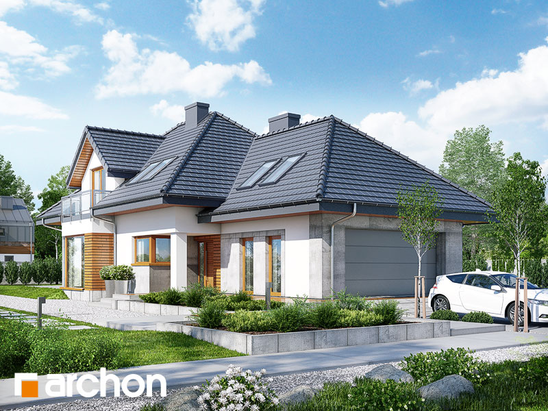 Dom w rukoli 3 (N) - wizualizacja 1