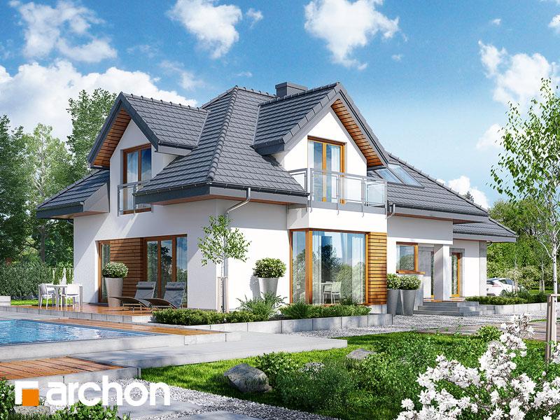 Dom w rukoli 3 (N) - wizualizacja 2