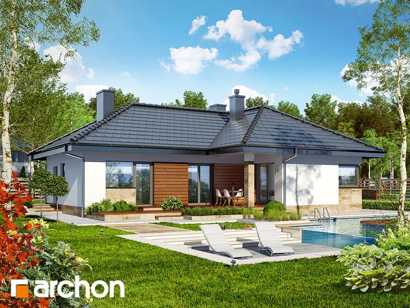 Dom w gruszach - wizualizacja 1