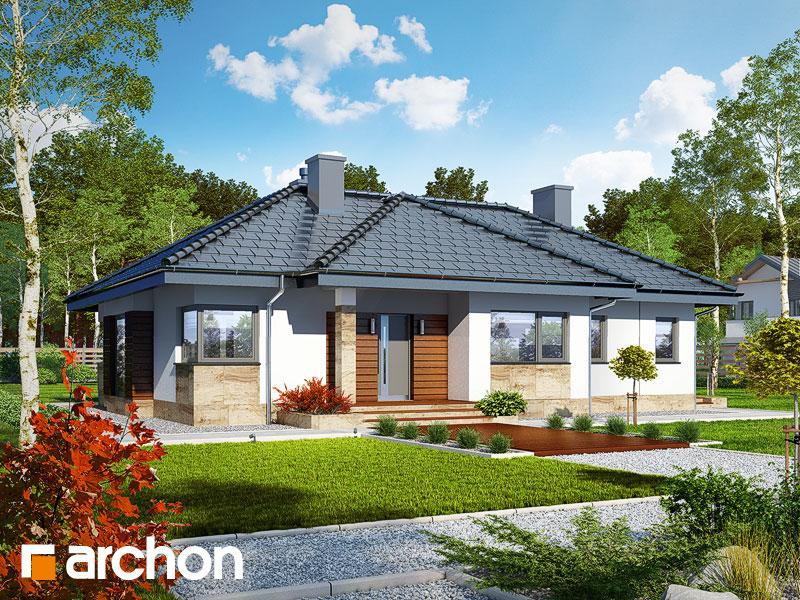Dom w gruszach - wizualizacja 2