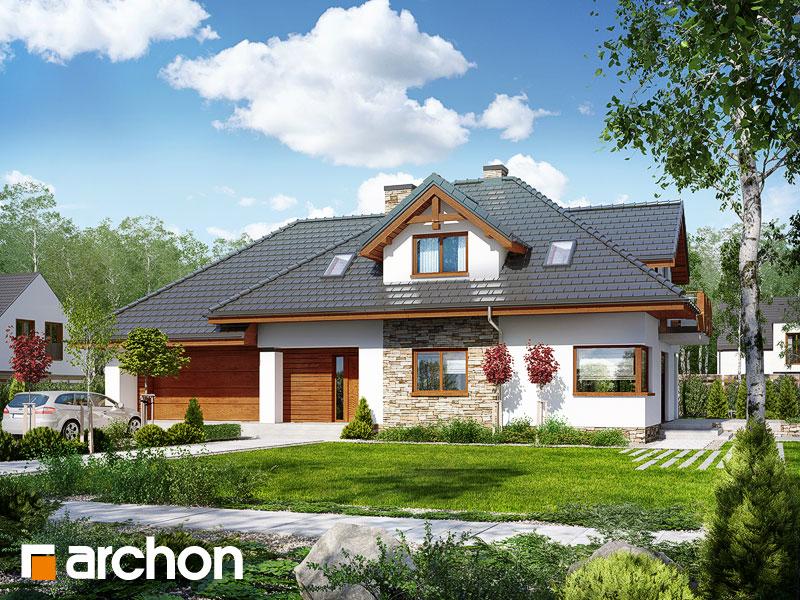 Dom w kannach - wizualizacja 1