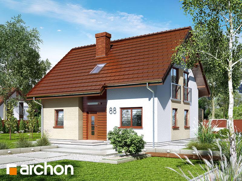 Dom w zielistkach (P) - wizualizacja 1