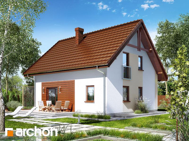 Dom w zielistkach (P) - wizualizacja 2