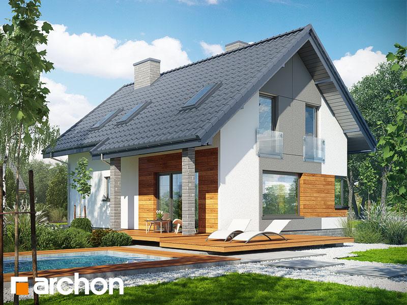 Dom w żurawkach 2 - wizualizacja 2