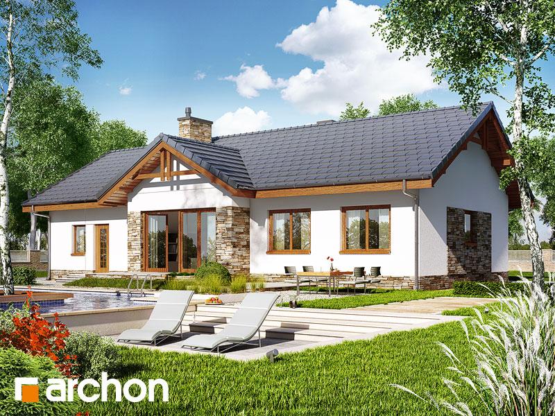 Dom w nerinach (G2) - wizualizacja 2