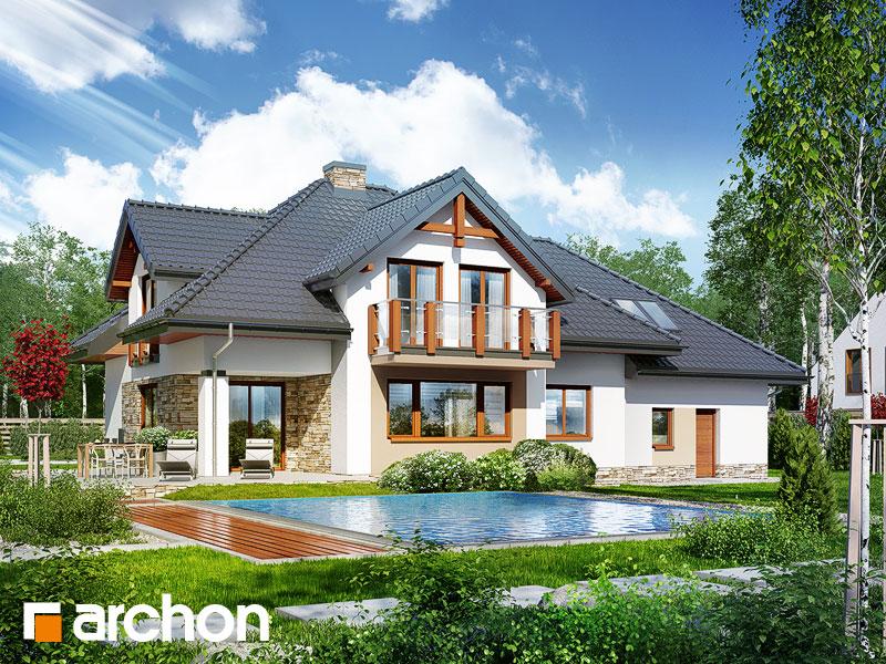 Dom w kannach 2 (P) - wizualizacja 2