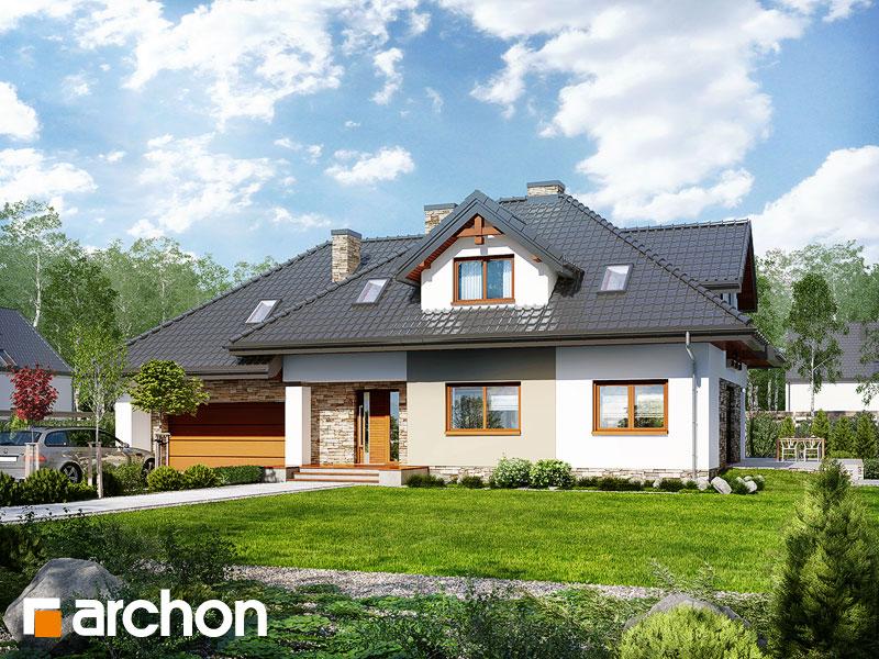 Dom w kannach 2 (P) - wizualizacja 1