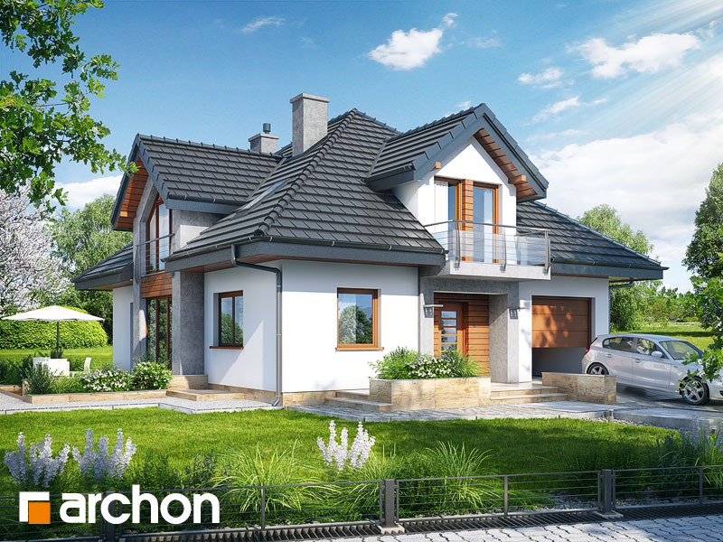 Dom w tymianku (PN) - wizualizacja 1